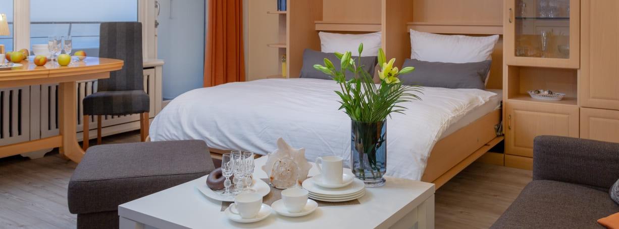 Sylt Westerland Ferienwohnung Appartement 48 Haus am Meer